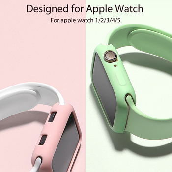 TPU Case for apple watch series 5 4 40mm 44mm silicone band 3 2 1 38mm 42mm Replace strap