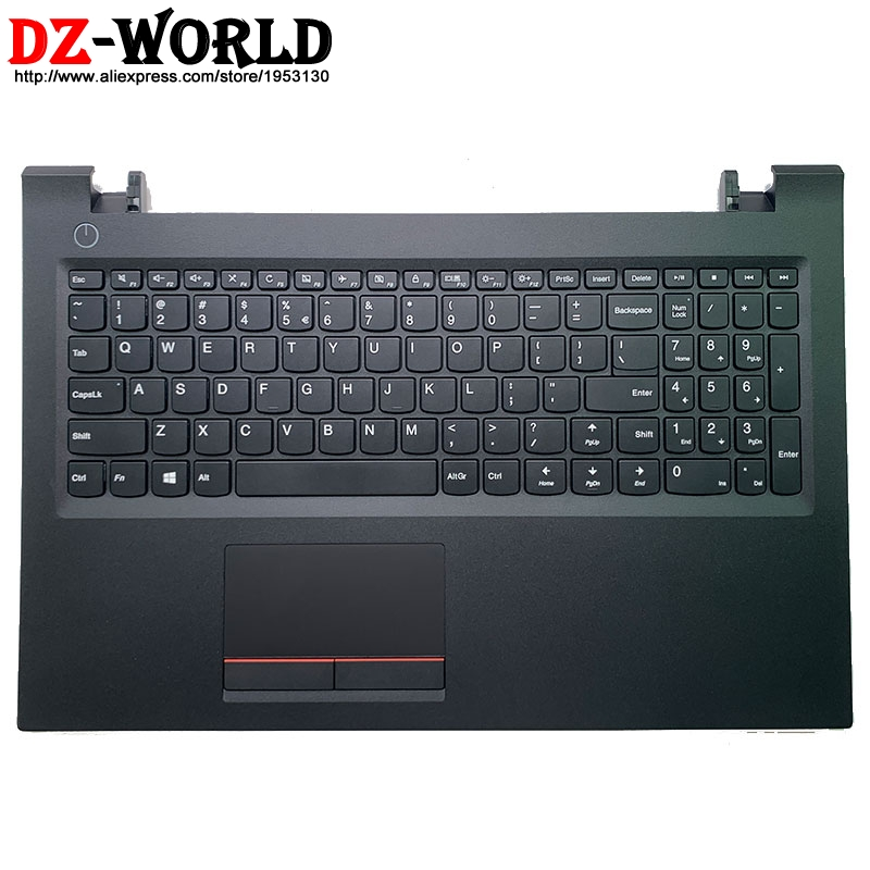 New/orig Palmrest Upper Case With USI English Keyboard Touchpad for Lenovo V510-15IKB Laptop C Cover 5CB0M31717