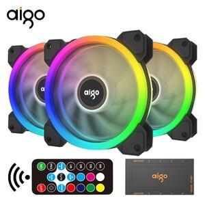 120mm Fan Cooler-Fan Pc-Case Interface Quiet Aigo Dr12 Transparent-Blade IR