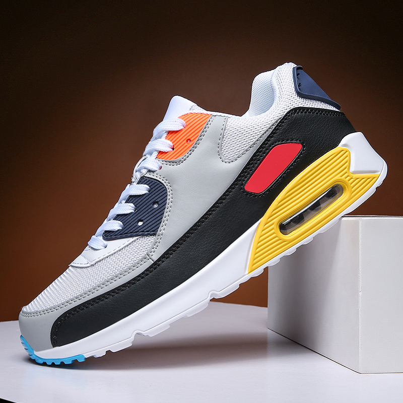 Men Running Shoes Breathable Outdoor Sports Shoes Lightweight Cushioning Athletic Training Jogging Couple Sneakers Zapatillas|Running Shoes| |  - title=