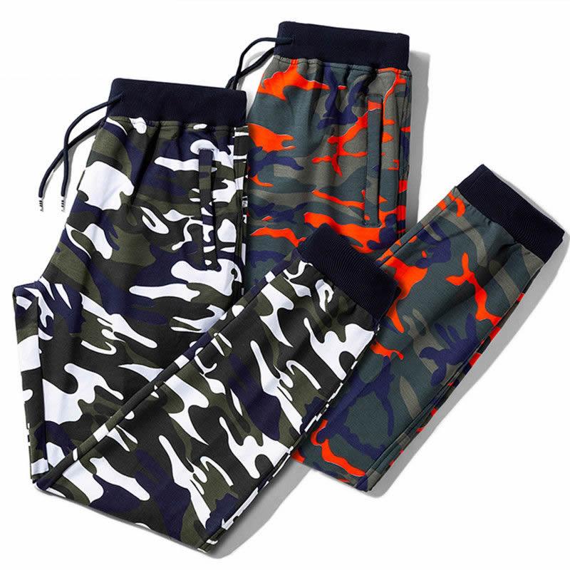Plus M-8XL Cotton Men Jogger Autumn Pencil Harem Pants 2019 Camouflage Military Sweatpans Loose Comfortable Camo Cargo Trousers