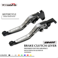 Brake Clutch Levers FOR HONDA CB400SF CB400SS CBR400F CB400 CB 400 919 Extendable Folding Lever Motorcycle Adjustable