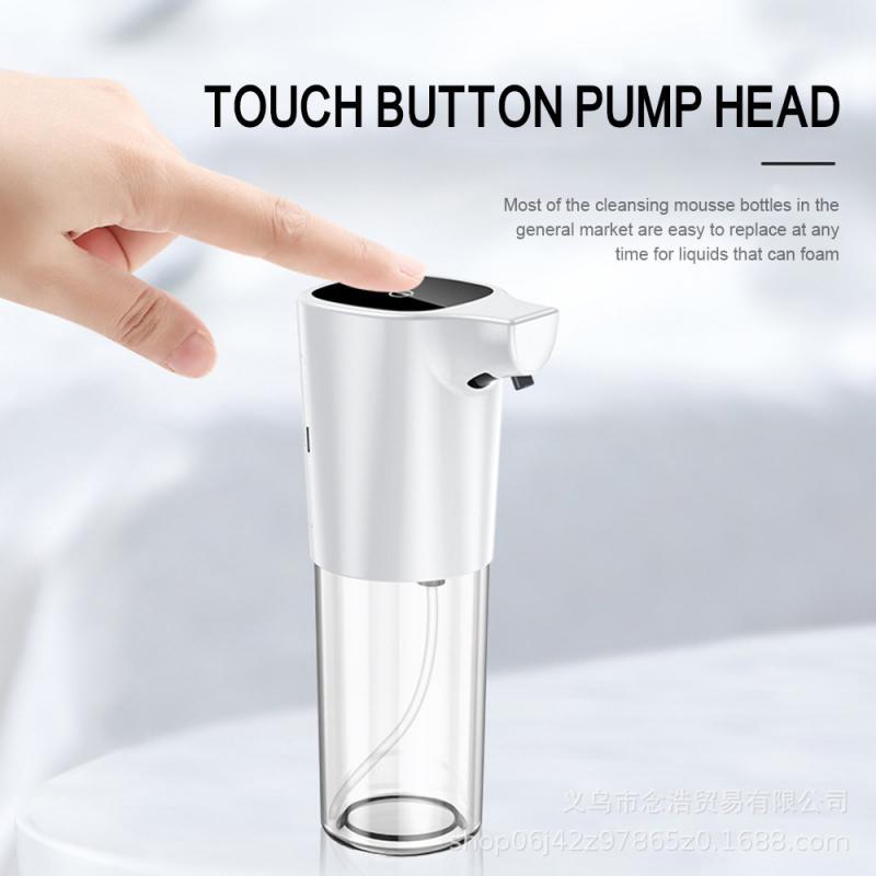 H40b3089b39e94680843a15dbb9490444u - 275ml Automatic Soap Dispenser Vertical Touchless Induction Foam Electric Smart Sensor Liquid Soap Dispenser Bathroom Kitchen
