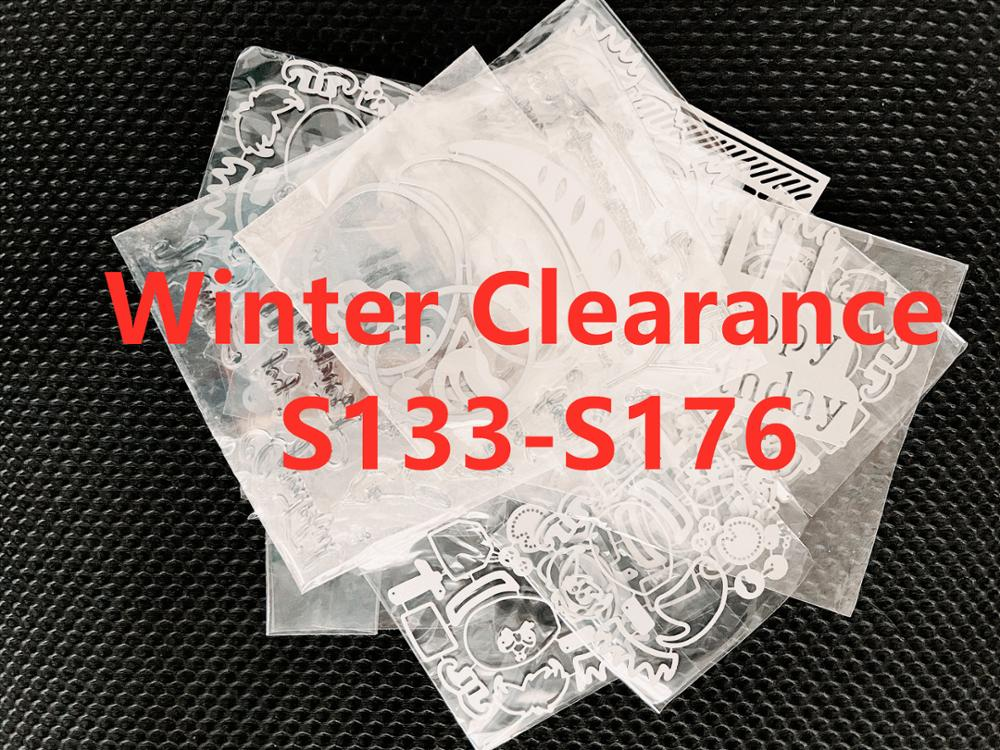 Winter Clearance Cutting Dies S133-S176