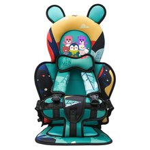 Car-Seat Portable Child with Strap 6-Mons 7-Years-Old Seat-Cushion Baby Cartoon-Pattern