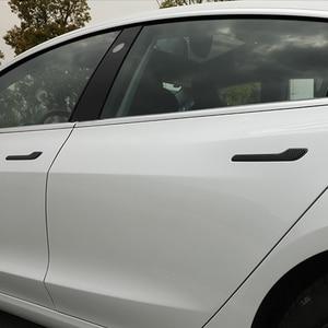 Защитная Наклейка на дверную ручку автомобиля Tesla Model 3 Model Y 2019 2020 2021