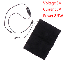 Warmer Clothing Heated-Pads Thermal-Vest-Jacket USB DIY 1pc 3-Gear Temperature Adjusted