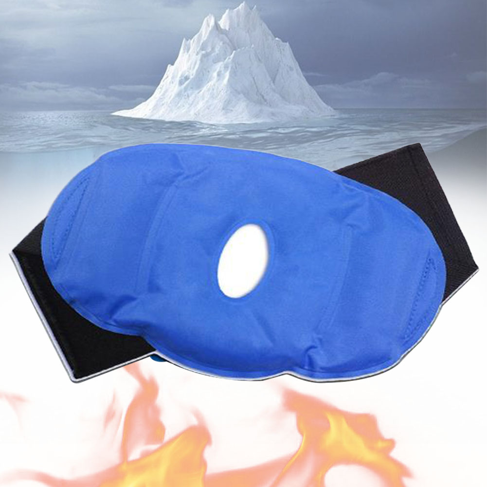 Knee Patch Sports Injuries Gel Pack Breathable Adjustable Reusable Wrap Pain Relief Surgery Heat Ice Hot And Cold Therapy #5