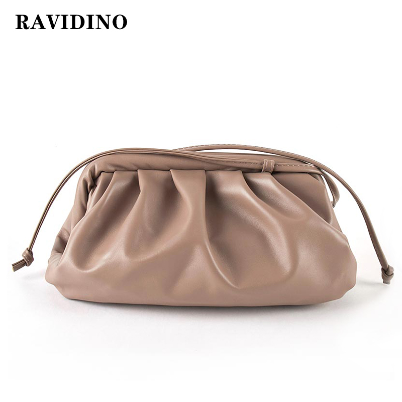 Bag For Women Cloud Bag Soft Leather Madame Bag Single Shoulder Slant Dumpling Bag Handbag Day Clutches Bags Messenger Bag