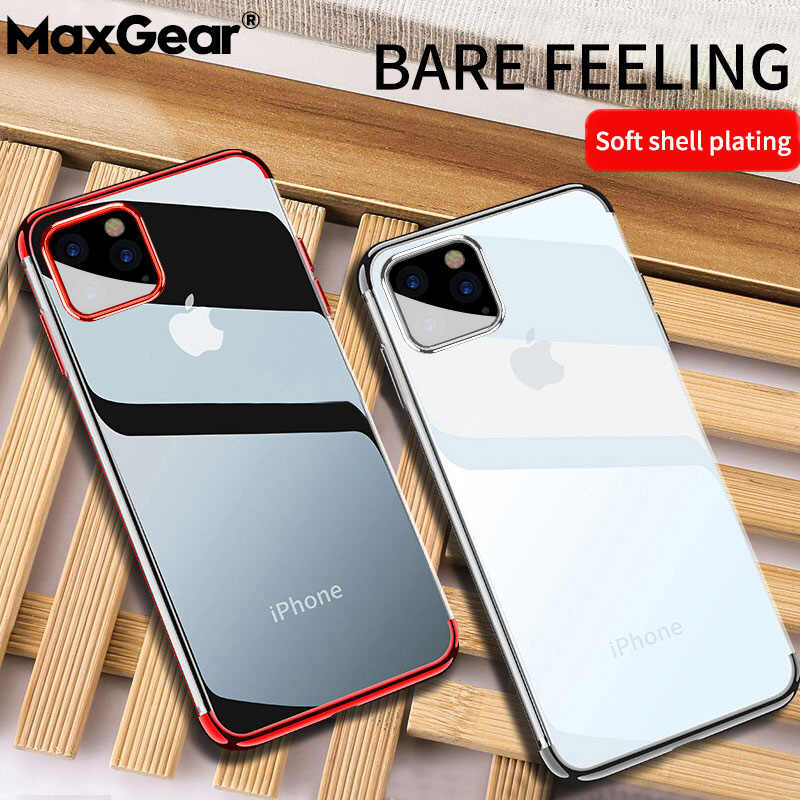 For iPhone 11 Case Laser Plating Luxury TPU Soft Clear Cover For iPhone 11 Pro X XR XS Max 2019 6 6S 7 8 Plus Crystal Fundas