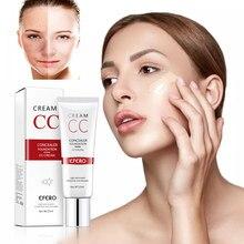 Maquiagem bb creme clareamento cosméticos natural clareamento cc creme à prova dwaterproof água base de maquiagem fundação profissional compõem a beleza