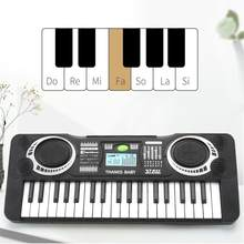Infant Playing Educational Electronic Piano Baby Toys Children Keyboard Boys Girls Fingers Kids Music 37 Keys Gift Plastic