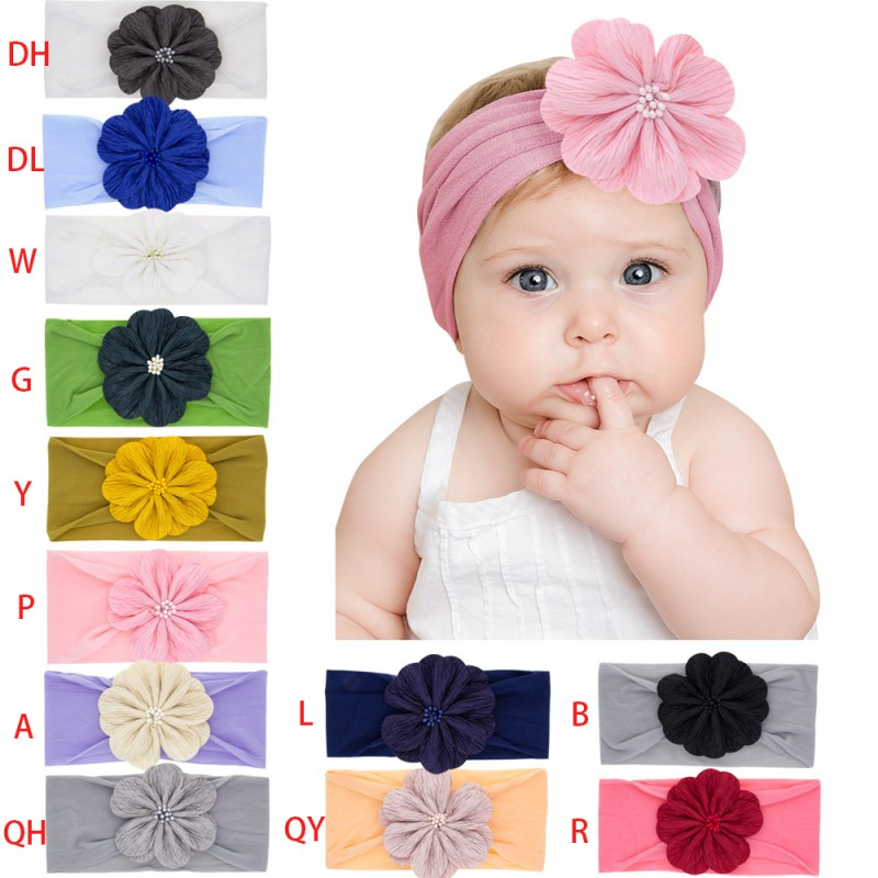 2019 New Fashion Baby Cute Girls Floral Design Headband Headwear Apparel Photography Prop Party Gifts New