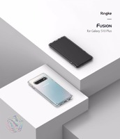 Original Ringke Fusion Phone Cases For Samsung Galaxy S10/S10 Plus  Clear PC Back TPU Bumper Drop Protection For S10/S10 Plus|Fitted Cases| |  -