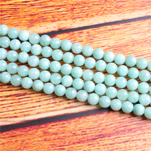 Burma Jade?Natural Stone Bead Round Loose Spaced Beads 15 Inch Strand 4/6/8 / 10mm For Jewelry Making DIY Bracelet Necklace