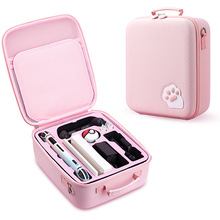 Cute Pink for Girl Cat Claw Storage Bag for Nintendo Switch Bag Nintend Switch Host Hard Case Console Accessories Protective Box