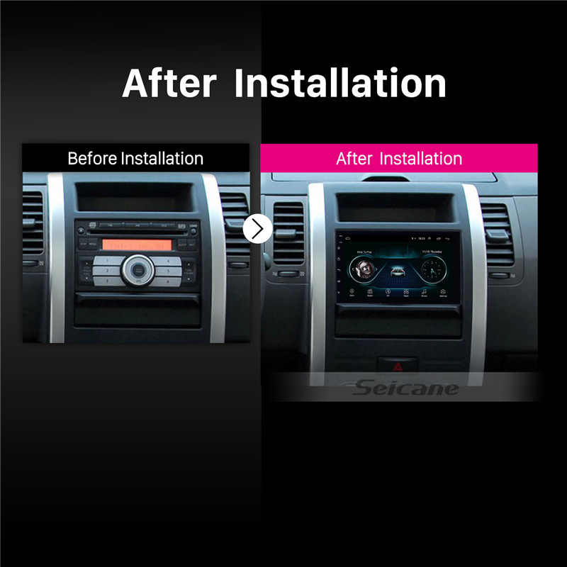 Seicane 2 DIN Universal Android 9.1 Mobil GPS Multimedia Navi Stereo Player untuk Nissan QASHQAI/X-TRAIL TOYOTA COROLLA Hyundai kia