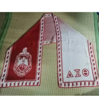 Multifunctional Fade Color Chiffon Material Scarf DST Sorority Greek Letter Chiffon Scarf -Custom Chiffon Scarf(China)