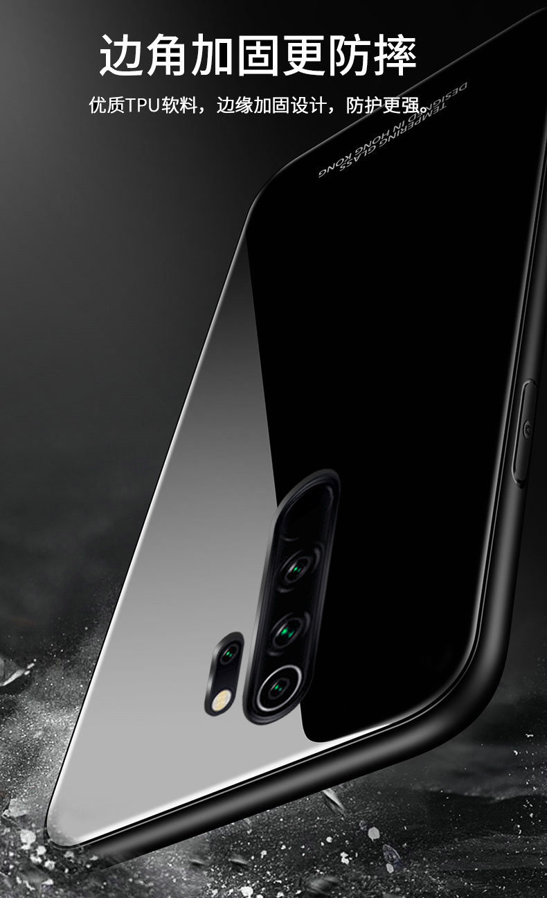 H40b55324e419408289b306dffbb573d9P for Xiaomi Redmi Note 8 Pro Case Tempered Glass Ring Magnet Holder Case for Redmi Note 8 8A 7 9 Pro Soft Frame Stand Back Cover