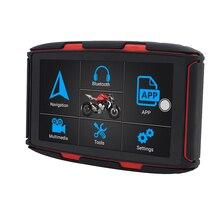 5 pulgadas IPS pantalla táctil vehículo GPS Accesorios Moto camión GPS sistema de navegación portátil 16GB transmisor FM navegador GPS