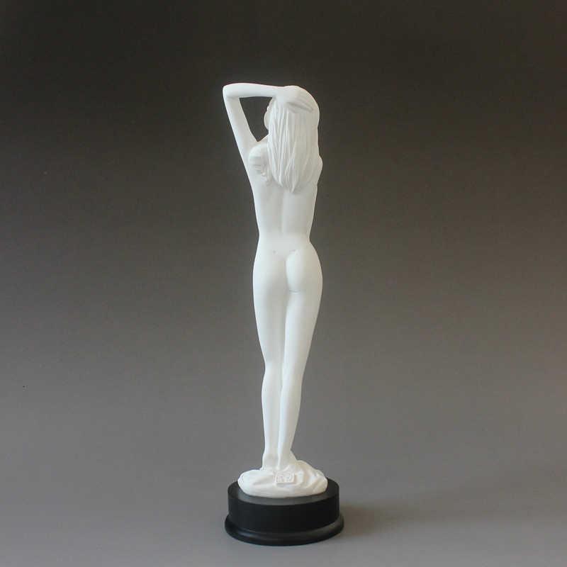 Gaya Modern Seksi Kecantikan Gambar Miniatur Patung/Mandi Dance Nude Wanita LADY Gadis Dekorasi Rumah Interior Aksesoris Patung