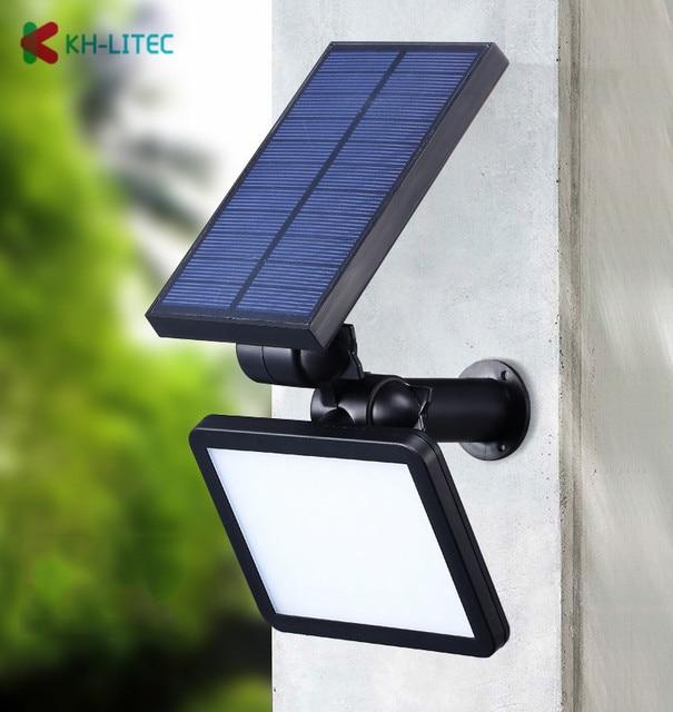 48LED Solar Power Led-strahler Garten Rasen Lampe Landschaft Lichter Außen Beleuchtung Wasserdicht Home Yard Pathway Wand Lampe