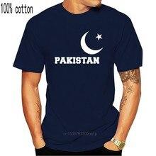 T-shirts do divertimento paquistão layout personalizado fã de críquete tshirt-pode adicionar nome nova chegada men camisa de algodão em massa de grande qualidade