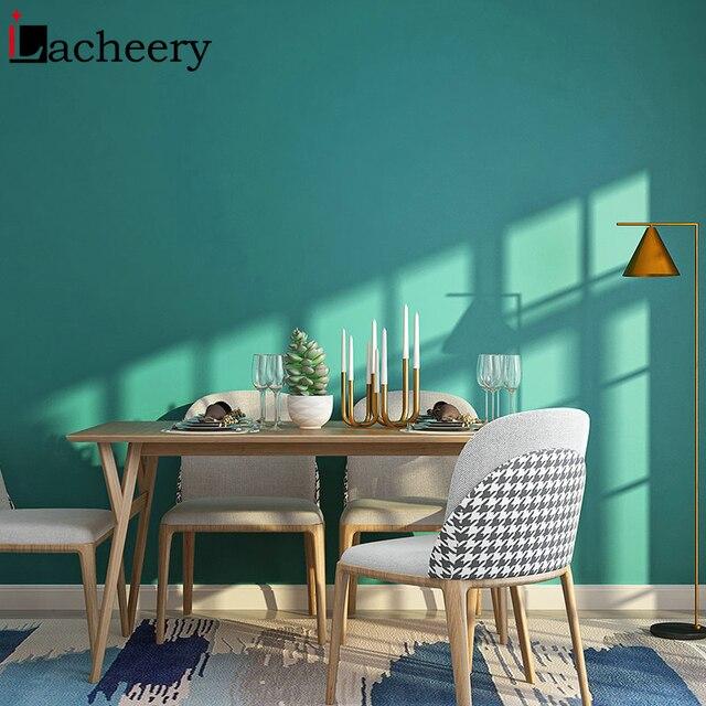 Düz renk hareli su geçirmez kendinden yapışkanlı duvar kağıdı oturma odası için çocuk odası vinil yapışkan kağıt yurt odası dekor