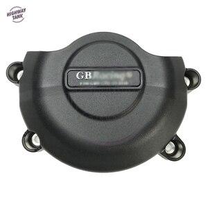 Image 5 - Motorfietsen Motorkap Protector Waterpomp Covers Case Voor Gb Racing Voor Yamaha YZF600 R6 2006 2016