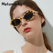 Newest Fashion Oval Sunglasses Women Brand Designer Vintage Black Lens Shades Sun Glasses Flowers Printed Frame UV400 Oculos чехол canon dcc 1370 для серии ixus
