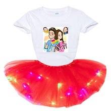 Мне controte комплект одежды для девочек летняя детская одежда