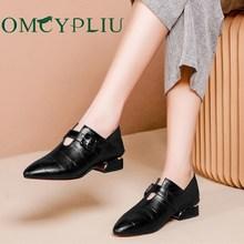 יוקרה מעצב נעלי נשים משאבות 2020 חדש שחור בתוספת גודל לעבוד גבירותיי עור נעליים מחודדת אופנה אישה נעל Zapatos mujer