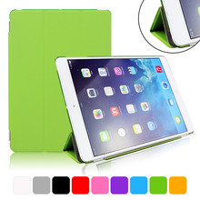 цена Foldable Case for iPad Air 1 A1474 A1475 A1476 Smart Stand Cover 9.7 Inch Apple Tablet Case Promotion онлайн в 2017 году