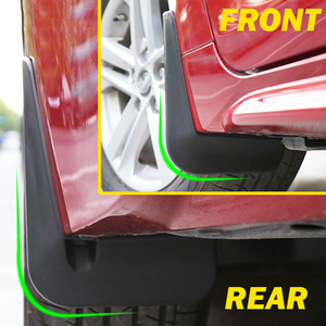 Image 5 - Toyota Corolla E210 4 도어 세단 2020 전면 리어 카 머드 플랩 스플래쉬 가드 머드 가드 액세서리
