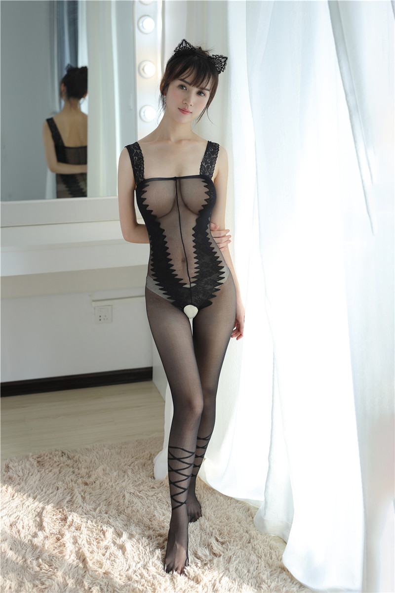 H40b787e641834fecb6cfc3c2da764e65F Body de lencería Sexy con osito erótico para mujer, disfraces sexys, ropa interior porno, medias de manguera, ropa interior sexual, camisón íntimo