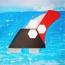 BiLong FCS II fin Box Tri fins Размер G7 большой доски для серфинга хвост плавник из стекловолокна большой сотовый сердечник серфинга kiteboard paddle board