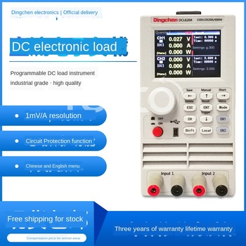 DCL6204 dual channel DC electronic load tester LED drive power battery load meter 400W цена 2017