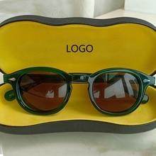 Johnny Depp Sunglasses Men Women Polarized Sun glasses Top quality Acetate Eyewear frame Driving Shades Brand Designer box Z084 цена и фото