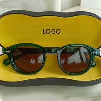 Johnny Depp Sunglasses Men Women Polarized Sun glasses Top quality Acetate Eyewear frame Driving Shades Brand Designer box Z084