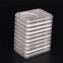 1x 10-Coin Capacity Storage Box Case Holder Slabs Plastic For PCCB NGC Organizer(China)