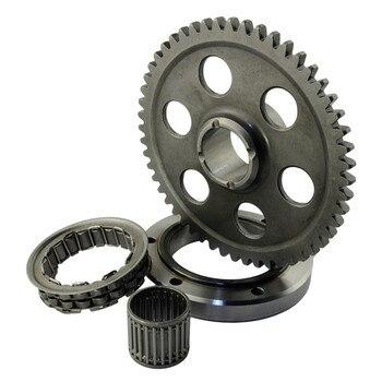 цена на Motorcycle Engine Parts Starter Clutch Gear Assy For YAMAHA Raptor660R YFM660R Raptor 660 R YFM 660 R 2001 2002 2003