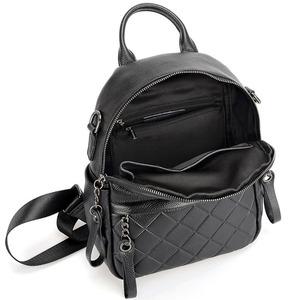 Image 4 - Женский винтажный рюкзак Zency из 100% натуральной кожи, элегантный черный повседневный рюкзак для отдыха, повседневные дорожные сумки, школьная сумка для девочек, белый цвет