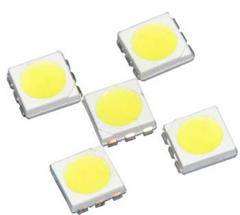 Highlight 5050 Lamp Beads Is White Warm White LED Patch Quality Assurance Two Years Gold For Making