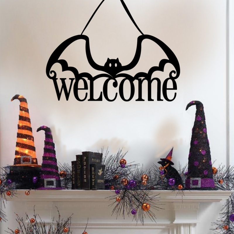 Halloween Non woven Door Hanging as Home Decoration Accessories in Party DIY Decorations from Home Garden