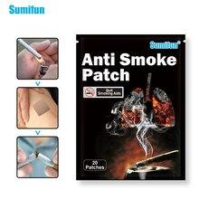Sumifun 20 шт. травяные Пластыри для остановки курения, антидымовые пластыри, отпускные Пластыри для курения K05501