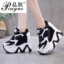 Women High Platform Shoes New Breathable Women