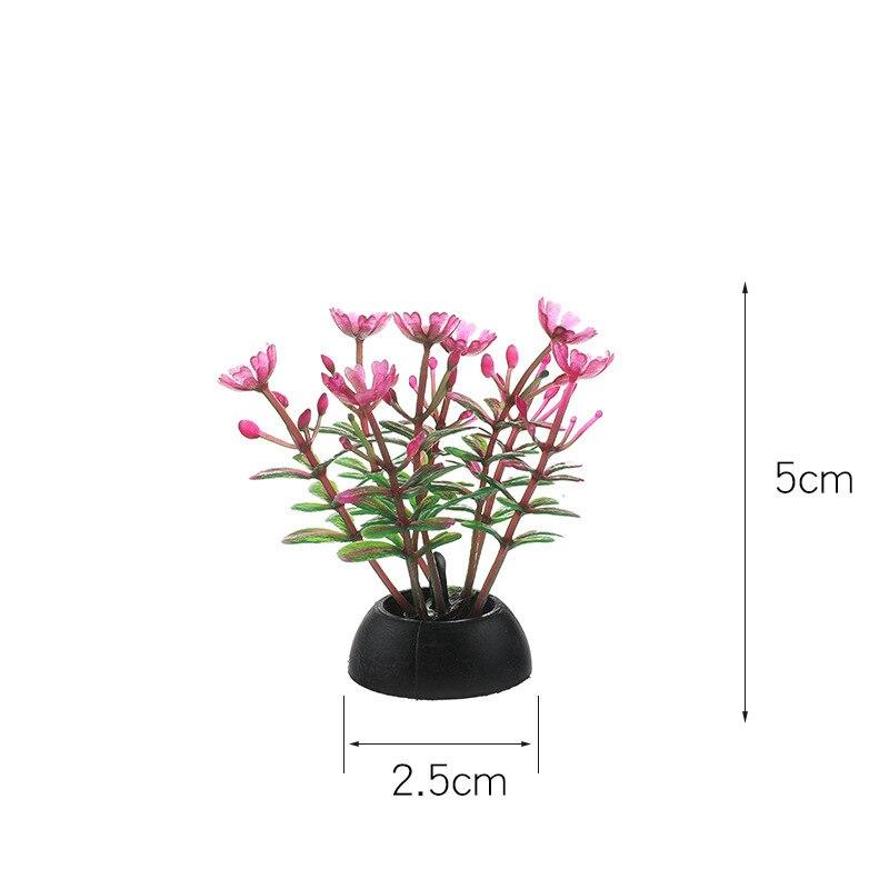 Купить пвх аквариум декоративная имитация искусственный нарфил растение