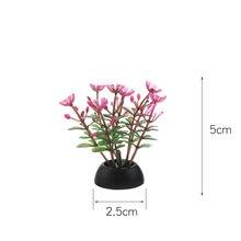 ПВХ аквариум декоративная имитация искусственный нарфил растение