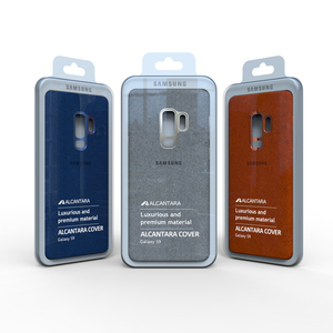 Image 2 - 100% NEW Original Genuine Samsung Galaxy S9 S9 plus S9+ ALCANTARA cover leather luxury premium case EF XG960 EF XG965