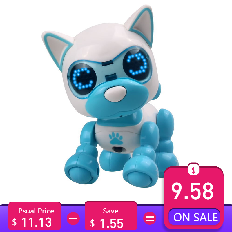 Toy Robot Sing Action-Figure Sound-Recording Education Sleep Smart Dog-Uinteractive Cute